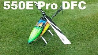 Trex 550e Pro Dfc Maiden   Tuning