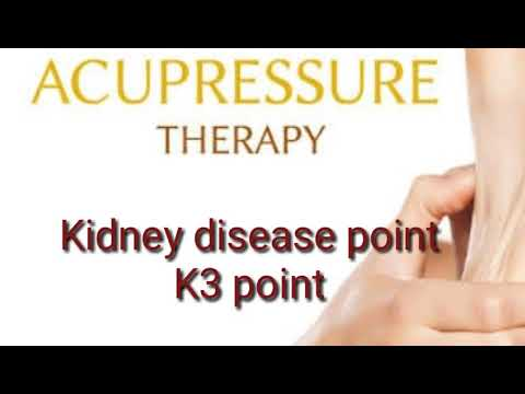 Kidney disease cured by acupressure