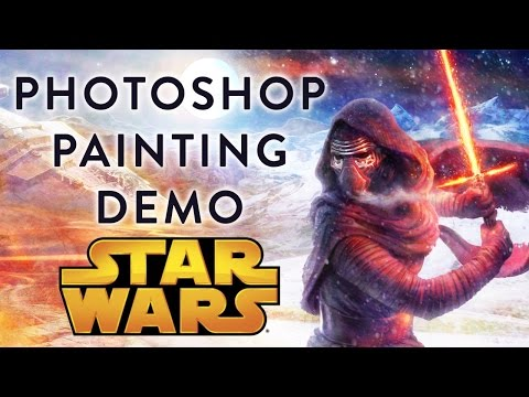 Illustrating Star Wars in Photoshop