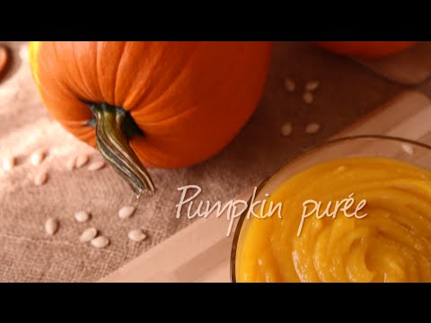 How to make pumpkin puree | Video recipe