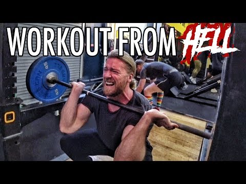 Workout From Hell (Can You Survive?) | Buff Dudes Cutting Plan P2D2