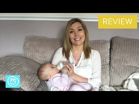 Munchkin LATCH Baby Bottle Review with Channel Mum | Ad