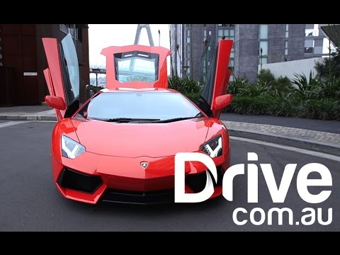 2015 Lamborghini Aventador Review | Drive.com.au