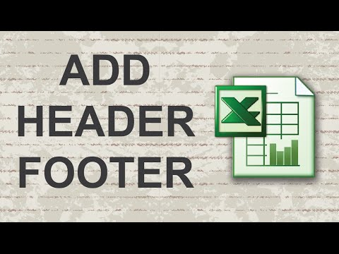 How to Add Header or Footer in Excel