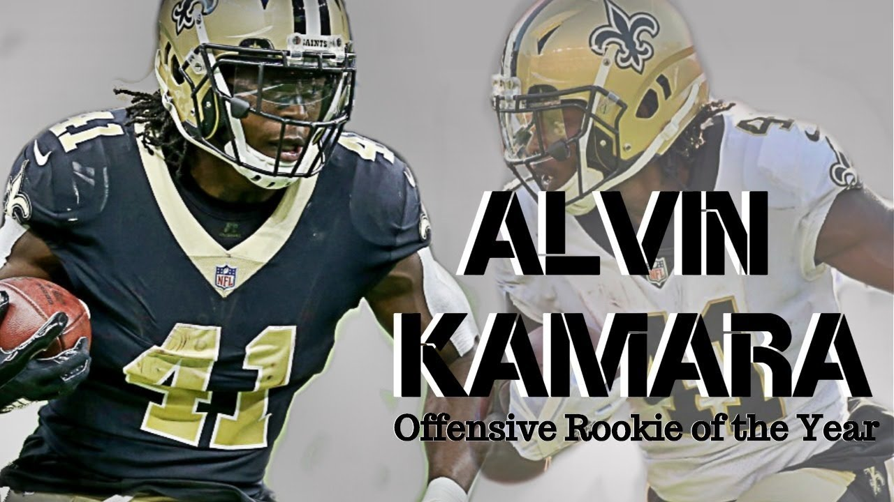 "Alvin Kamara 2017 Rookie Highlights || ""Offensive Rookie of the Year"" ᴴᴰ"
