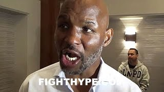 """BERNARD HOPKINS REACTS TO ANDRE WARD RETIREMENT; PAYS HOMAGE: """"I ROCK WITH HIM WITH THAT"""""""