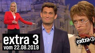 Extra 3 vom 22.08.2019 im Ersten   extra 3   NDR