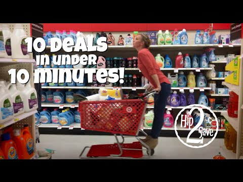 10 DEALS in under 10 MINUTES at Target! | Deal Shopping with Collin