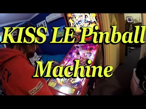 KISS LE Pinball Machine By Stern | Unboxing Ft. Simple_Dack