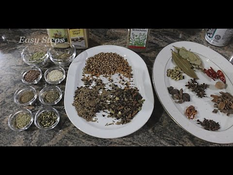 Homemade Biryani Masala | An Aromatic spice mix for all Chicken Mutton Veg Biryani