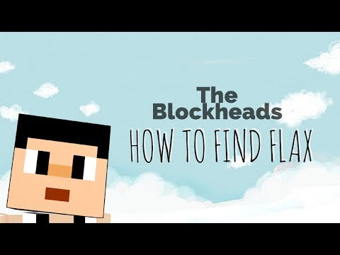 The Blockheads: How to Find Flax