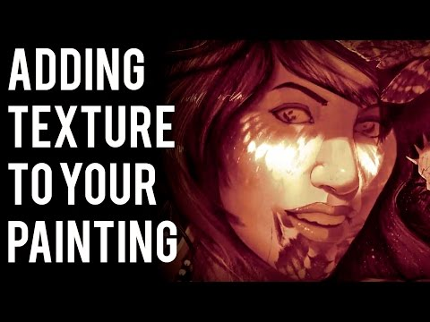 Adding Texture to Your Painting in Photoshop