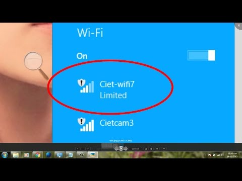 how to fix limited wifi connection on windows 8-how to fix limited wifi connection on windows 8.1