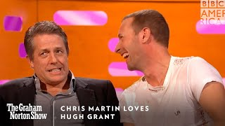 Chris Martin Loves Hugh Grant | The Graham Norton Show | Friday at 11pm | BBC America