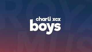 Charli XCX - Boys (Lyrics / Lyric Video)