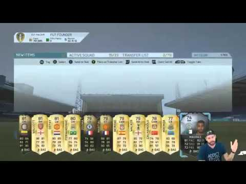 EA REFUNDED MY ENTIRE FUT ACCOUNT! FIRST OWNER LEGENDS?!? FIFA 16 Ultimate Team