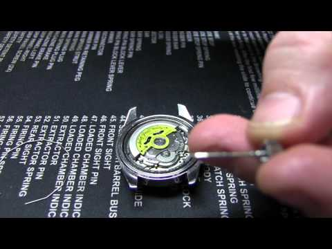 How to Mod Invicta 8926 Pro Diver Part 2 : Caseback, Crown & Movement