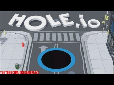 Hole.io  By Voodoo Gameplay (Android iOS)