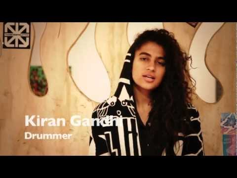 District Drum Company Sponsorship: Kiran Gandhi on Tom Tom TV