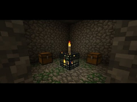 How to make a XP farm using blaze spawner (blaze dungeon)