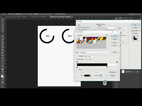 Create Adjustable Circular Progress bar in Photoshop