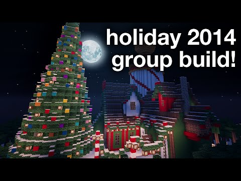 MINECRAFT - Holiday Build Announcement!