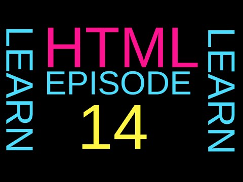 How to make a larger text and a smaller one in HTML ? Episode 14
