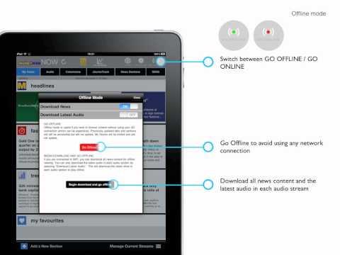 NOW iPad Help: Go Offline