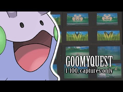 275 - Goomy Quest: Going from Level 1-100 Using Only Captures (My 1st Level 100 Gauntlet!)