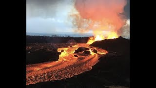 "Breaking: ""Hawaii Volcano Erupts, Monsoons Kill 30 India, Wildfires In west Coast / Blood Moon Apoc"