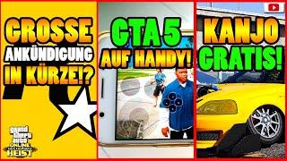 🙌Alle Neuen Inhalte!🙌 BIG NEWS VON R*!? GTA AUF HANDY! + Mehr! GTA 5 Online CAYO PERICO HEIST UPDATE