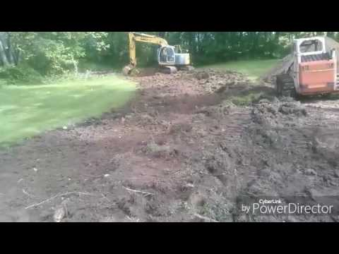 installing Mound septic system