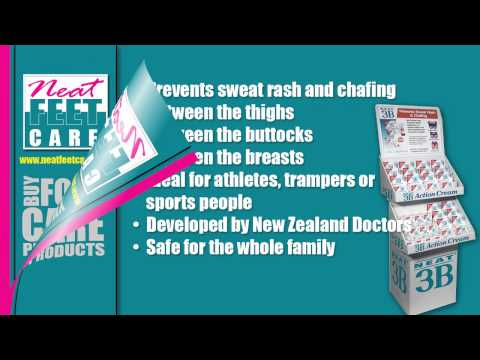 How to Prevent Sweat Rash and Chafing by Using Neat 3B Action Cream