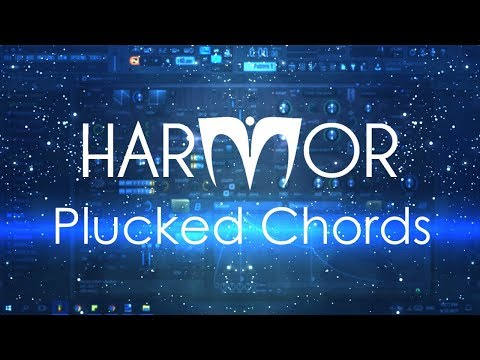 How to make the popular Plucked Chords in Harmor