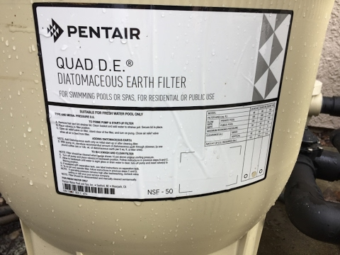 How to Clean a Pentair Quad DE Pool Filter, aka Diatomaceous Earth Filter