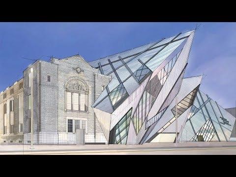 Digital Marker Drawing#003 Royal Ontario Museum