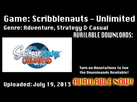 Scribblenauts: Unlimited - Download for Mac & PC