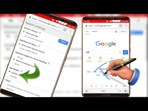 How to Enable Handwriting Feature in Google Chrome in Android