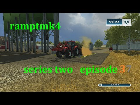 Farming Simulator 2013 Xbox 360 series  2 ,ep 37 plant them seeds  time