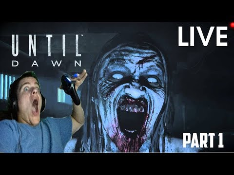 THEY ALMOST CAUGHT F*CKIN! | UNTIL DAWN (PART 1) **LIVE**