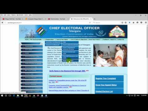 How to apply voter id card online in hindi 2016