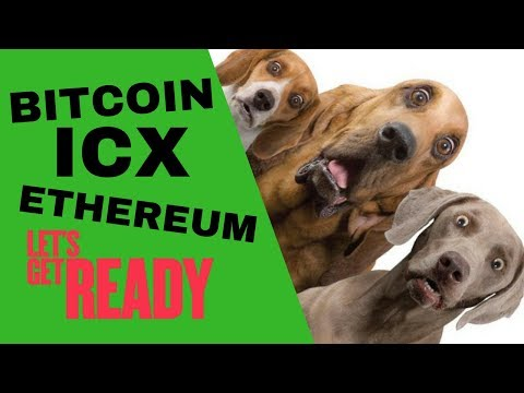 BITCOIN &  ETHEREUM PULL BACK (& a look at ICX)