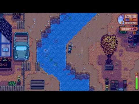 How I got a Tiger Trout - Stardew Valley