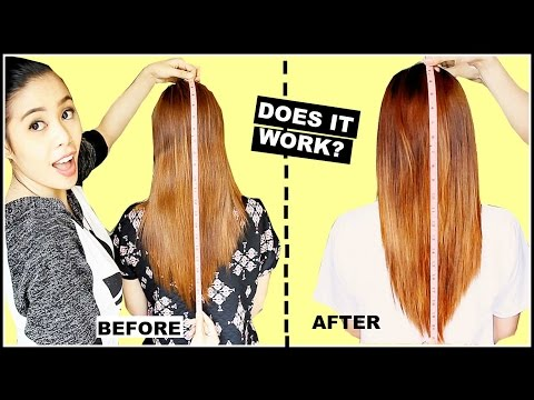 GROWING YOUR HAIR 1 INCH Overnight HAIR MASK?- TESTED-DOES IT WORK? BEAUTYKLOVE