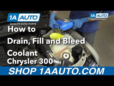 How to Drain, Fill and Bleed Radiator 2006 Chrysler 300 Buy Quality Parts from 1AAuto.com