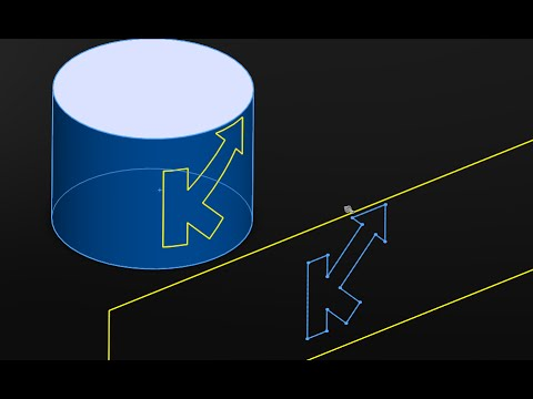 How to Wrap/Project Sketch on Curved Surface/Curved Extrusion in SolidWorks|JOKO ENGINEERING|