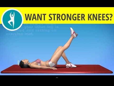 Exercise for Stronger Knees, Quadriceps and Hips