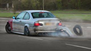 CRASHES, Fails \u0026 Near-Misses - Leaving A Car Show \u0026 More! 2020