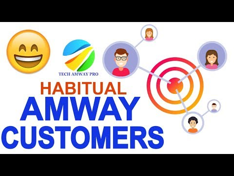 How To Make Habitual Customers Amway   Product Marketing Skills Grow Your Sales Tech Amway Pro mlm