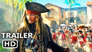 PIRATES OF THE CARIBBEAN 5 Official Characters Trailer (2017) Johnny Depp, Disney Movie HD